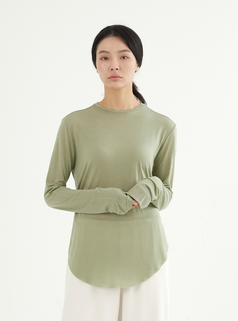 Cutting Long Sleeves Tee (3 Colors)