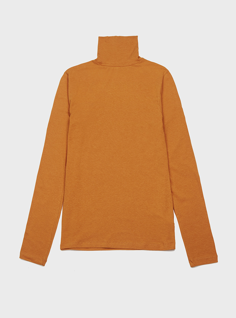 Basic Turtleneck Tee (6Colors)