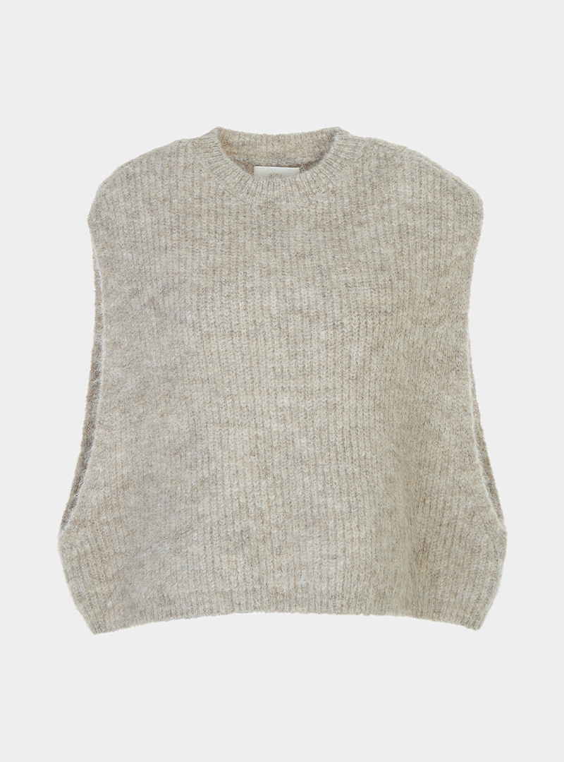 Mohair Over Vest (2Colors)